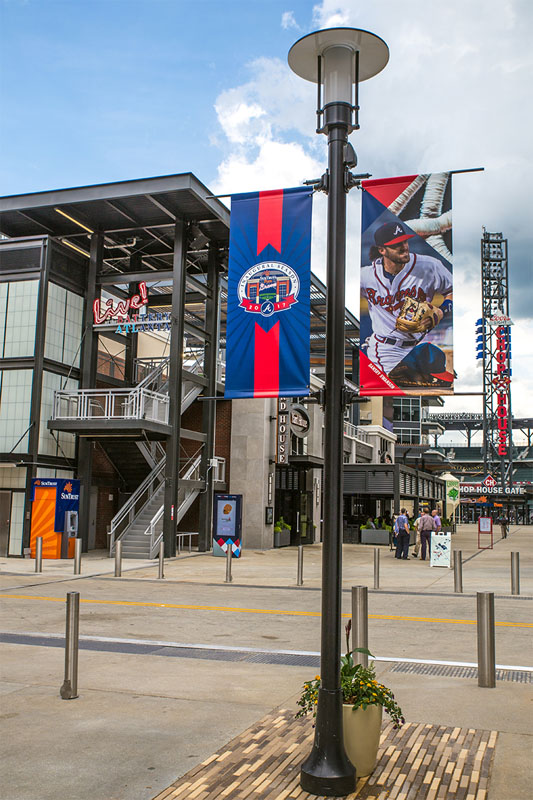 LA1601 Suntrust Park Braves Stadium- Atlanta, GA