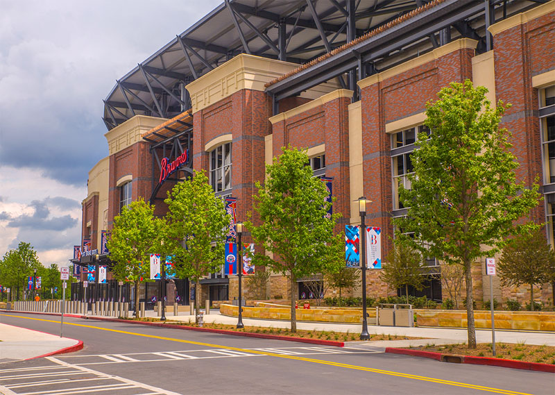 Suntrust Park Braves Stadium- Atlanta, GA